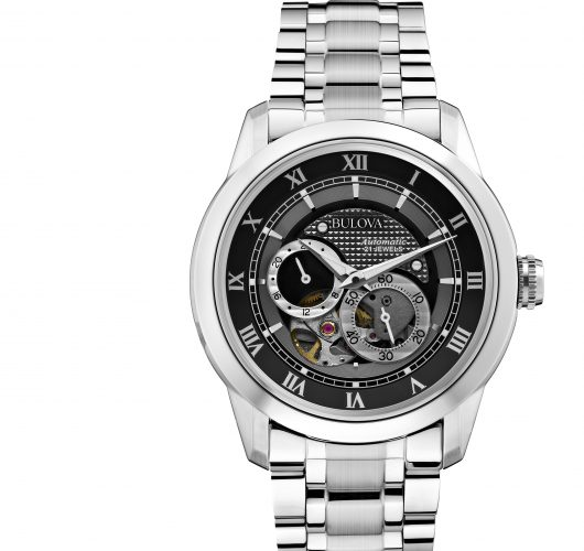 Mens stainless automatic watch