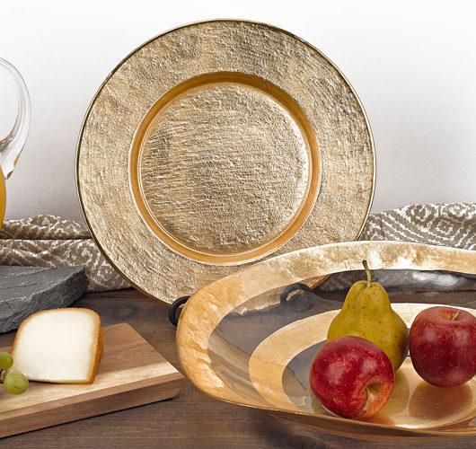 Decorative serving pieces