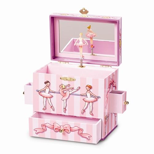 Childrens ballerina jewelry box
