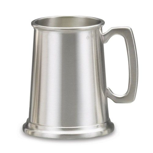 Stainless classic tankard
