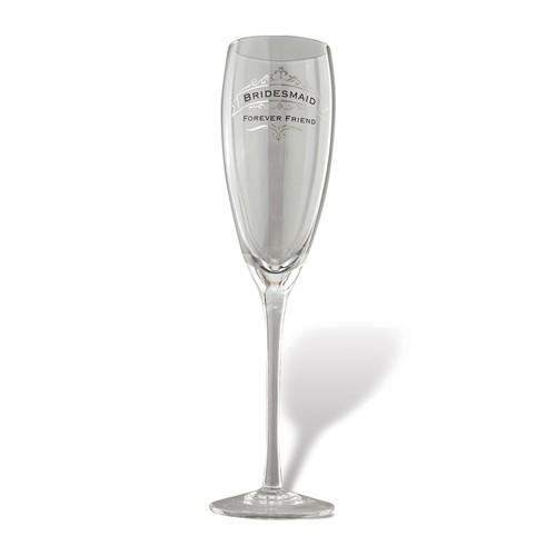 Bridesmaid Champagne glass